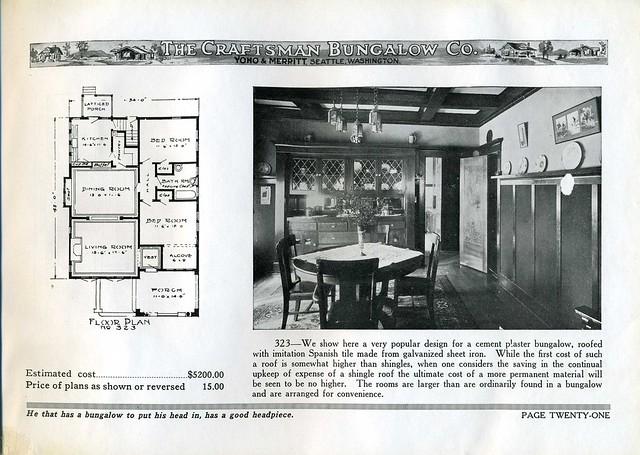 Jud Yoho Bungalow Interior 1920 Flickr Photo Sharing