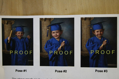 Rt's Preschool Graduation Proofs