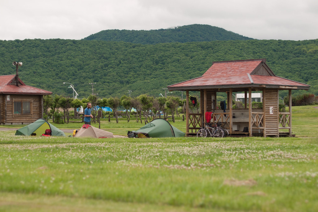 Hamamatsu Camping Ground, Hamamatsu, Hokkaido, Japan