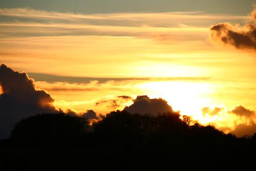 sunset sun sol solnedgang