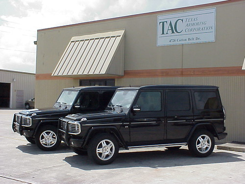 Armored bulletproof mercedes benz g500 suv for Mercedes benz armored