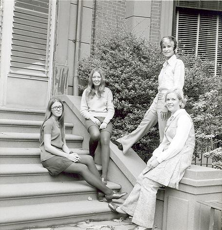 Yearbook Portraits, 1970 (53) - (l. - r.) Juliana Uvino, Pat Sullivan, Fran Musumeci and Carol McGlenn