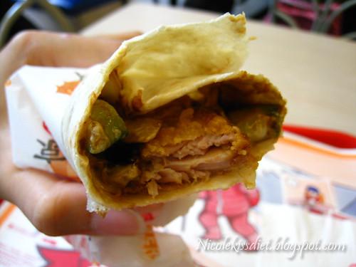 peking chicken wrap | Flickr - Photo Sharing!