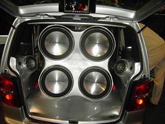 automotive exterior(0.0), executive car(0.0), wheel(0.0), rim(0.0), steering wheel(0.0), alloy wheel(0.0), spoke(0.0), vehicle audio(1.0), automobile(1.0), vehicle(1.0), automotive design(1.0), bumper(1.0), land vehicle(1.0),