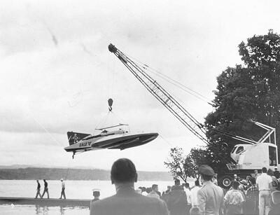 Hydroplane at Stan Sayres Park, circa 1958