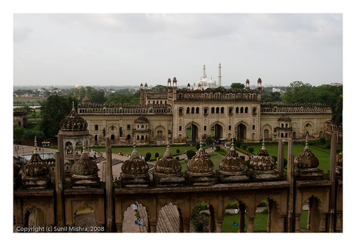 india building skyline landscape charbagh lucknow uttarpradesh badaimambara