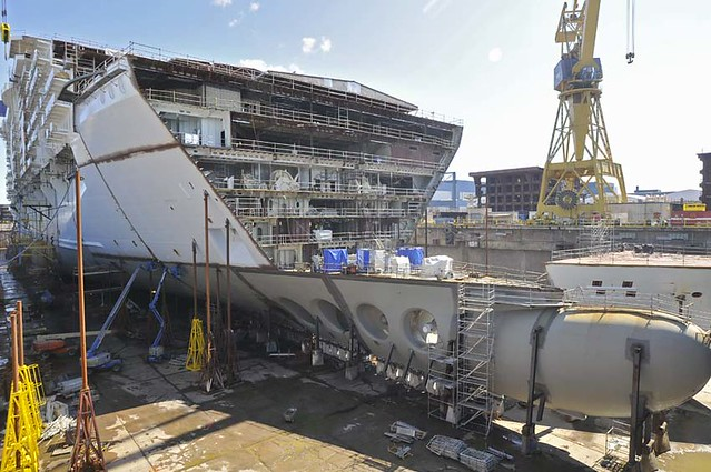 Oasis Of The Seas - Under Construction | Flickr - Photo ... Oasis Of The Seas Construction