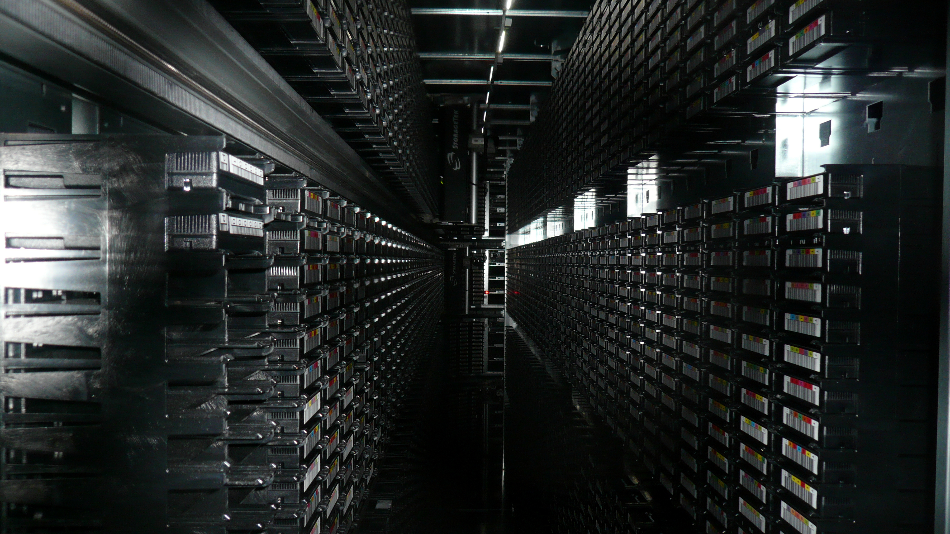 Tape Library Cern Geneva 2 Flickr Photo Sharing