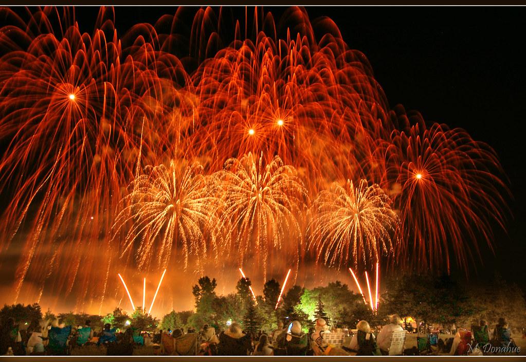 Bay City Fireworks by MD2!