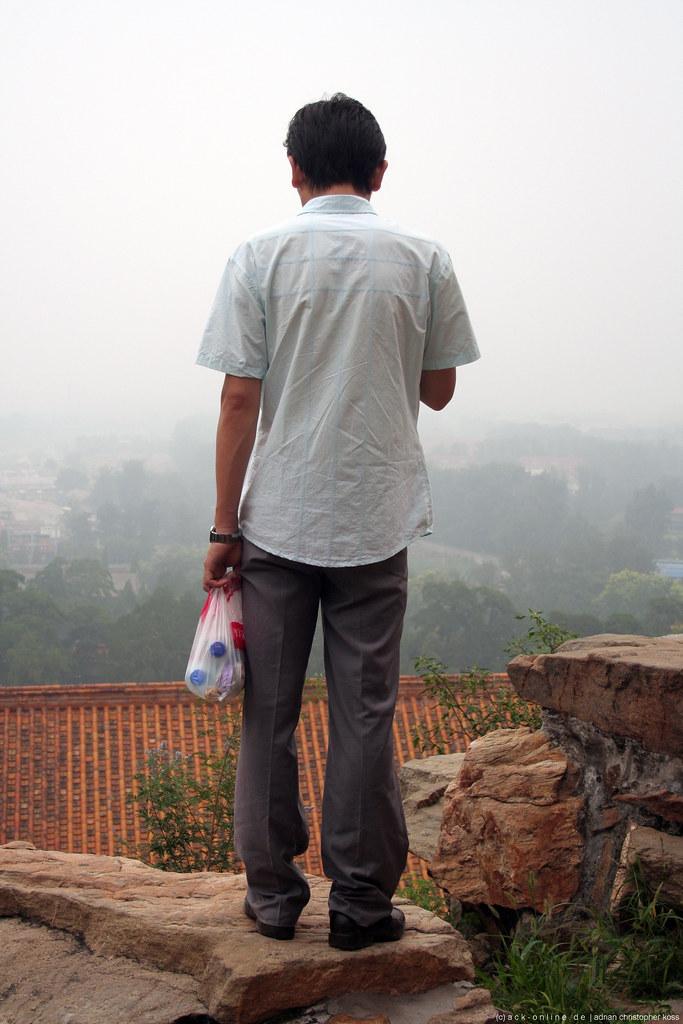 Beijing - watching the smog