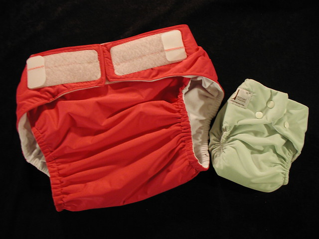 Adult Cloth Diaper. This is the charity diaper I've been working on.