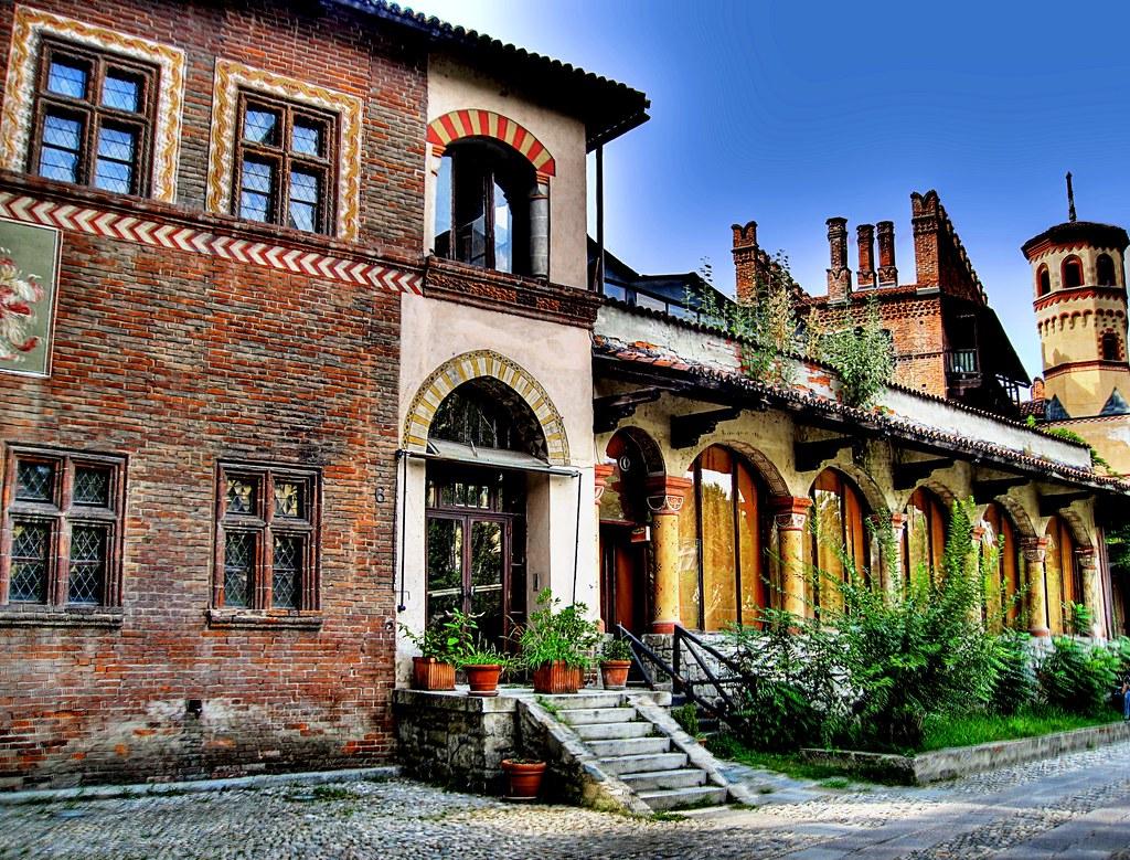 A l'intérieur du Borgo Medievale de Turin - Photo de Eric Borda