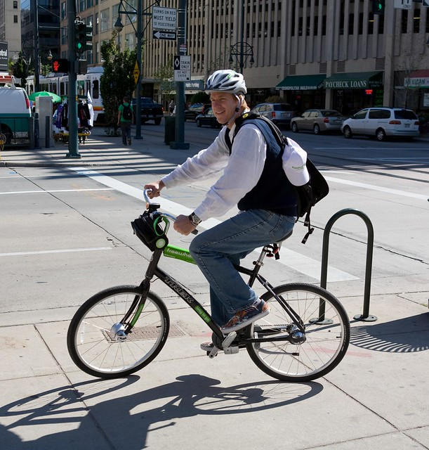 Matthew Modine takes his first Freewheelin ride