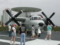 fighter aircraft(0.0), military(0.0), north american b-25 mitchell(0.0), flight(0.0), aircraft engine(0.0), air force(0.0), aerospace engineering(1.0), aviation(1.0), northrop grumman e-2 hawkeye(1.0), military aircraft(1.0), airplane(1.0), propeller driven aircraft(1.0), vehicle(1.0),