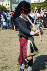 clothing, kilt, costume, bagpipes,