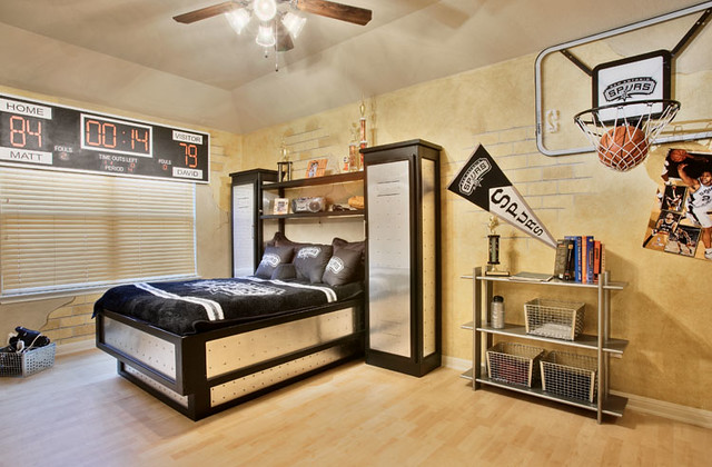 Kids basketball bedroom flickr photo sharing - Comely pictures of basketball themed bedroom decoration ideas ...