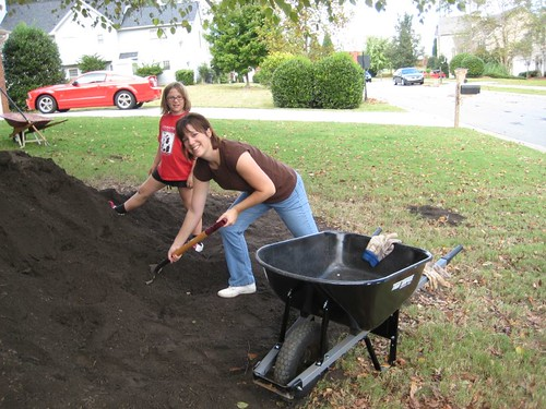 10 Tons Of Dirt : Chris thoughts tons of top soil is no match for us