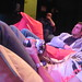 Audience in beanbags