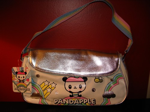 Sanrio Pandapple Rainbow Collection Medium Purse