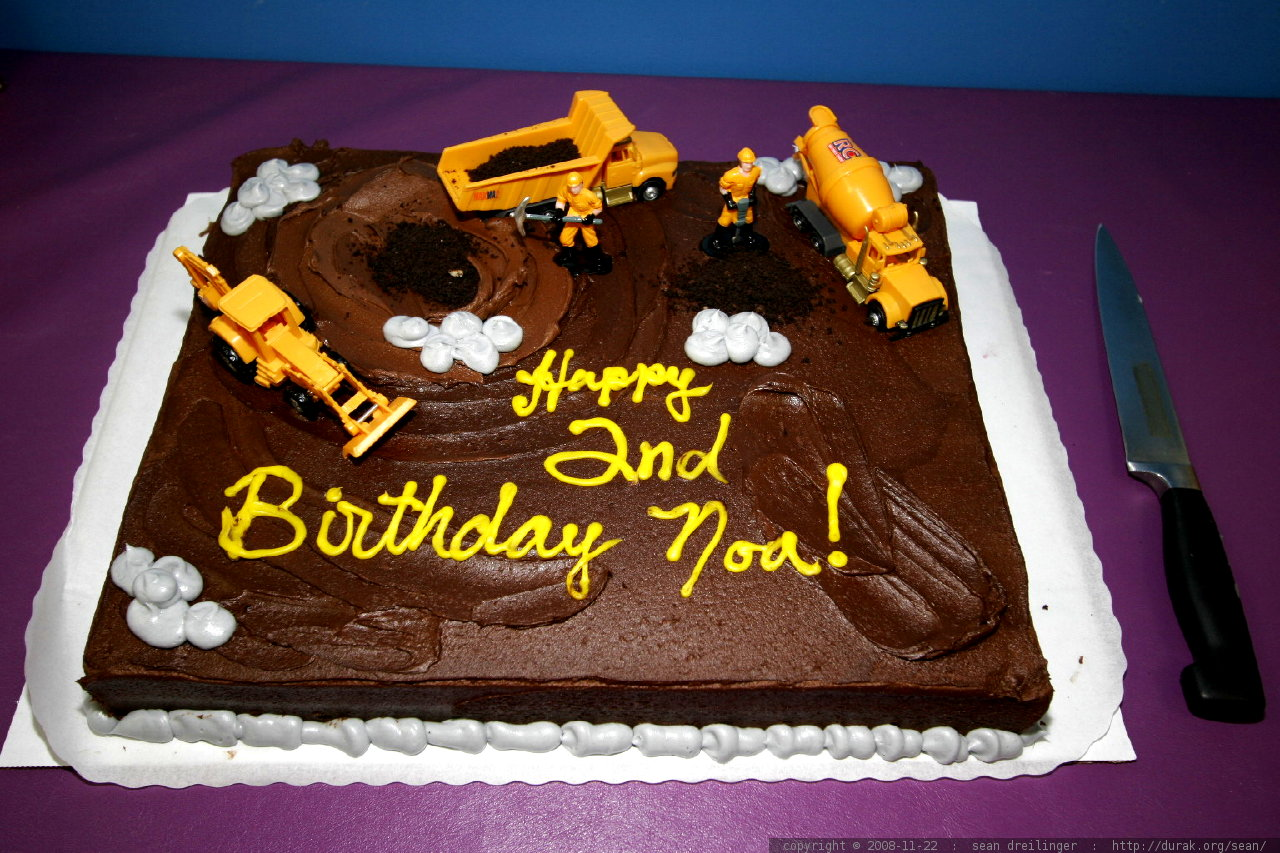 photo birthday cake construction trucks MG 3187 by seandreilinger