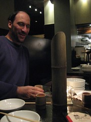 Andrew & Sake Holder