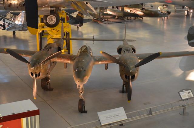 Steven F. Udvar-Hazy Center: Lockheed P-38J-10-LO Lightning