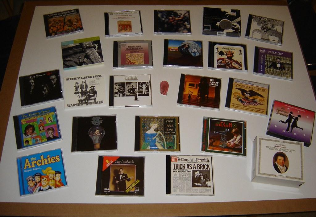 The desert island challenge- 24 music albums