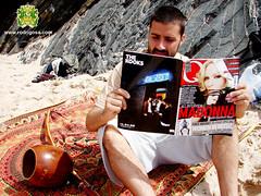 Q magazine Madonna Out side Rodrigo Sá praia Berimbau Contemporâneo Brazil Alentejo Portugal