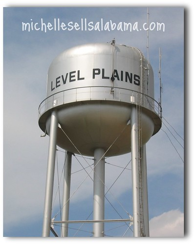 Level Plains, AL Water Tower