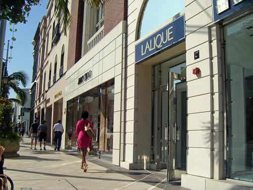 Jimmy Choo and Lalique on Rodeo Drive