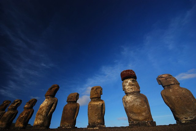 Easter Island in the Pacific - most unique islands in the world