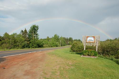 canada rainbow princeedwardisland pei cardigan