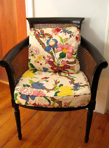 Chintz chair flickr photo sharing for Chintz couch