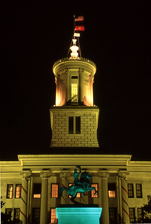 Tennessee State Capitol in Nashville 1996