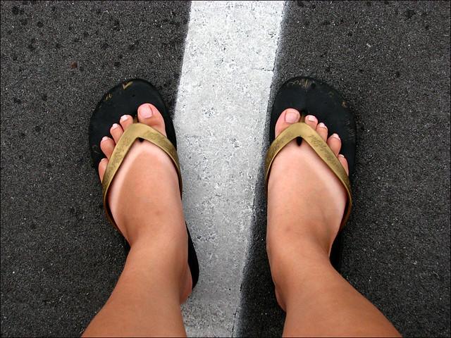 Flip flop tan lines  d01f53dfc36d