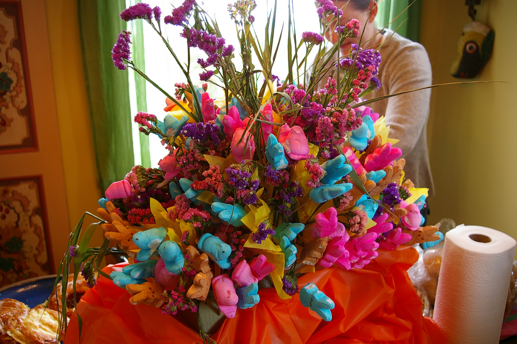 Peep bouquet/centerpiece III