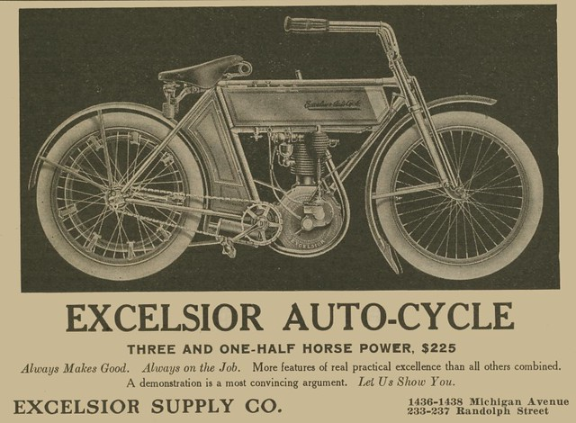 1910 excelsior motorcycle