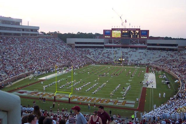 Georgia Tech Football 2003: @ FSU | Flickr - Photo Sharing! Fsu Football Stadium