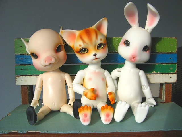 Animal BJD http://www.flickr.com/photos/59918938@N00/2871682432/
