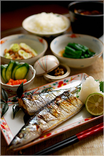 Dinner around the world a gallery on flickr for Abis japanese traditional cuisine