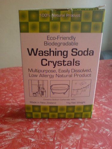 Washing Soda Crystals : eco friendly drain cleaners