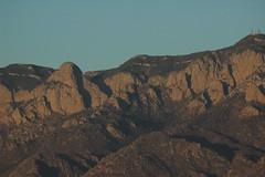 Sunset on Sandia Ridge in Albuquerque New Mexico