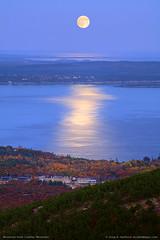 Acadia National Park Moonrise
