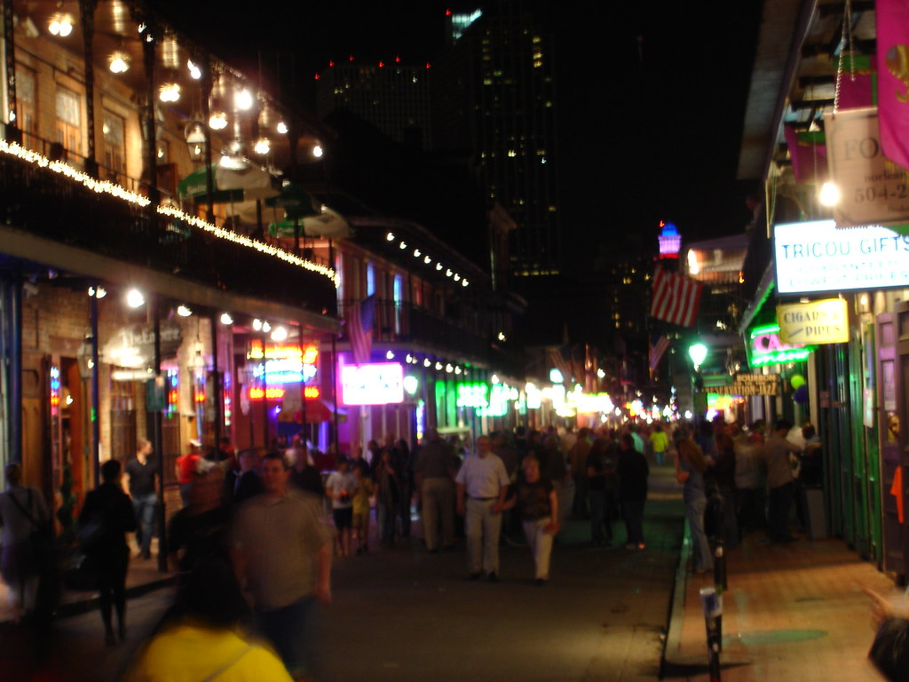 Bourbon Street, French Quarter, New Orleans