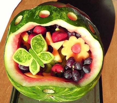Enfeite de frutas