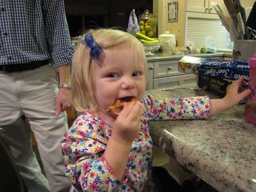 Molly's, party;, pretzel IMG_7113