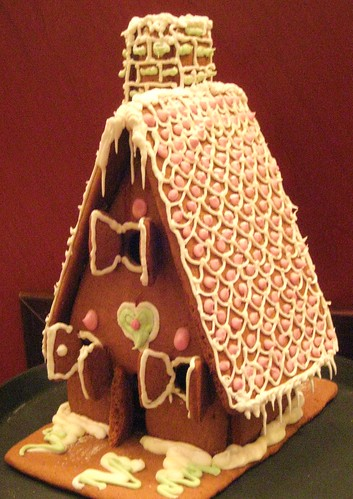 A Medieval style gingerbread house by Anna Amnell