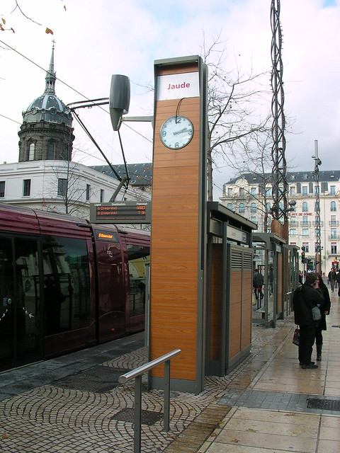 station jaude tramway clermont ferrand fr63 flickr. Black Bedroom Furniture Sets. Home Design Ideas