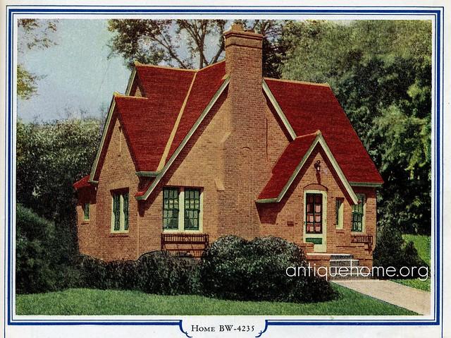 Bilt Well Homes Of Comfort Brick English Cottage A