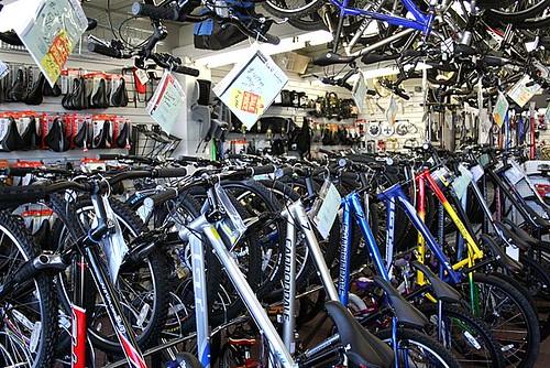 Mountain Bikes Bike Racks 3-20-08 -- IMG_9937
